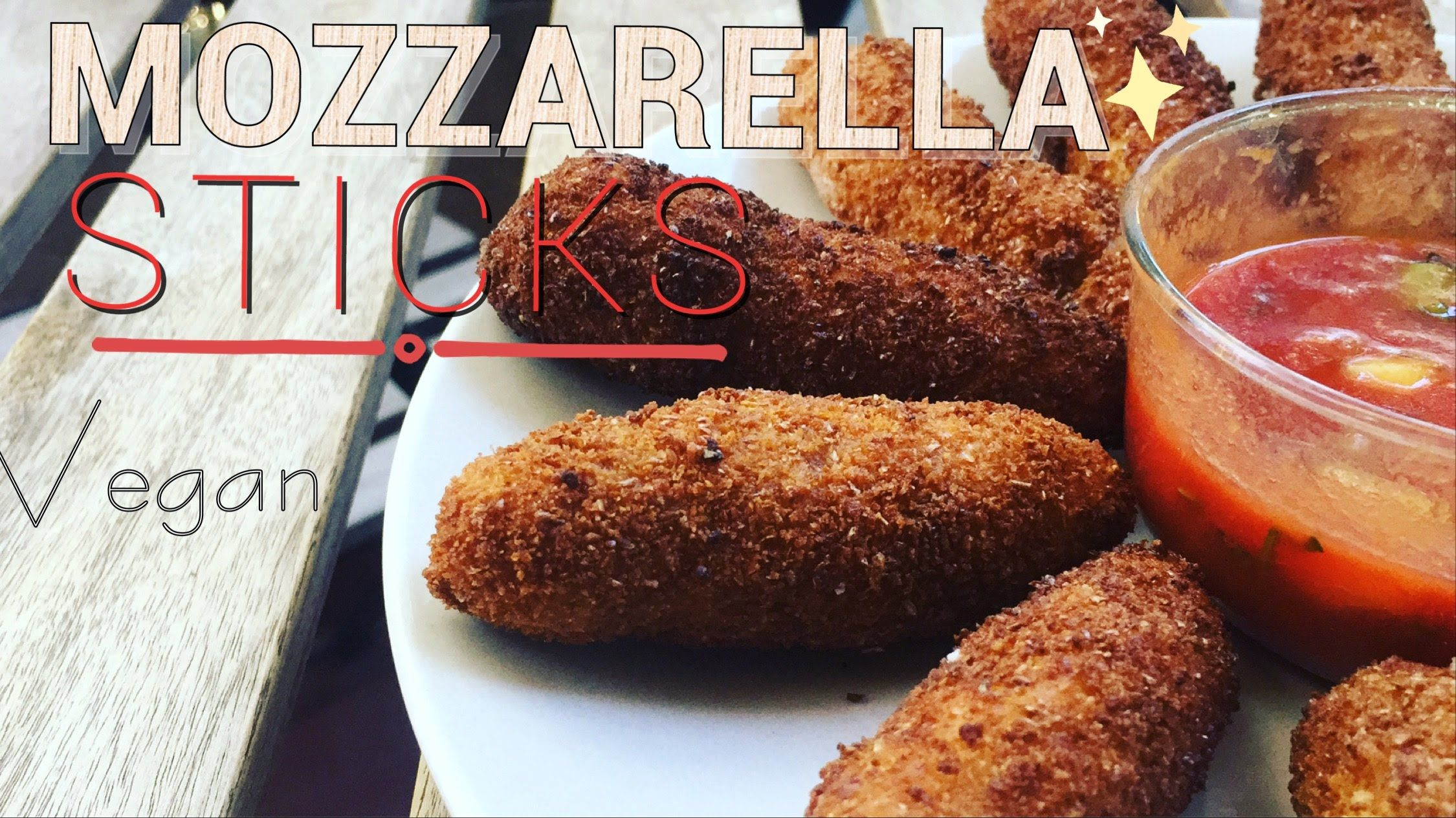 MOZZARELLA STICKS | RECETTE VEGETALE