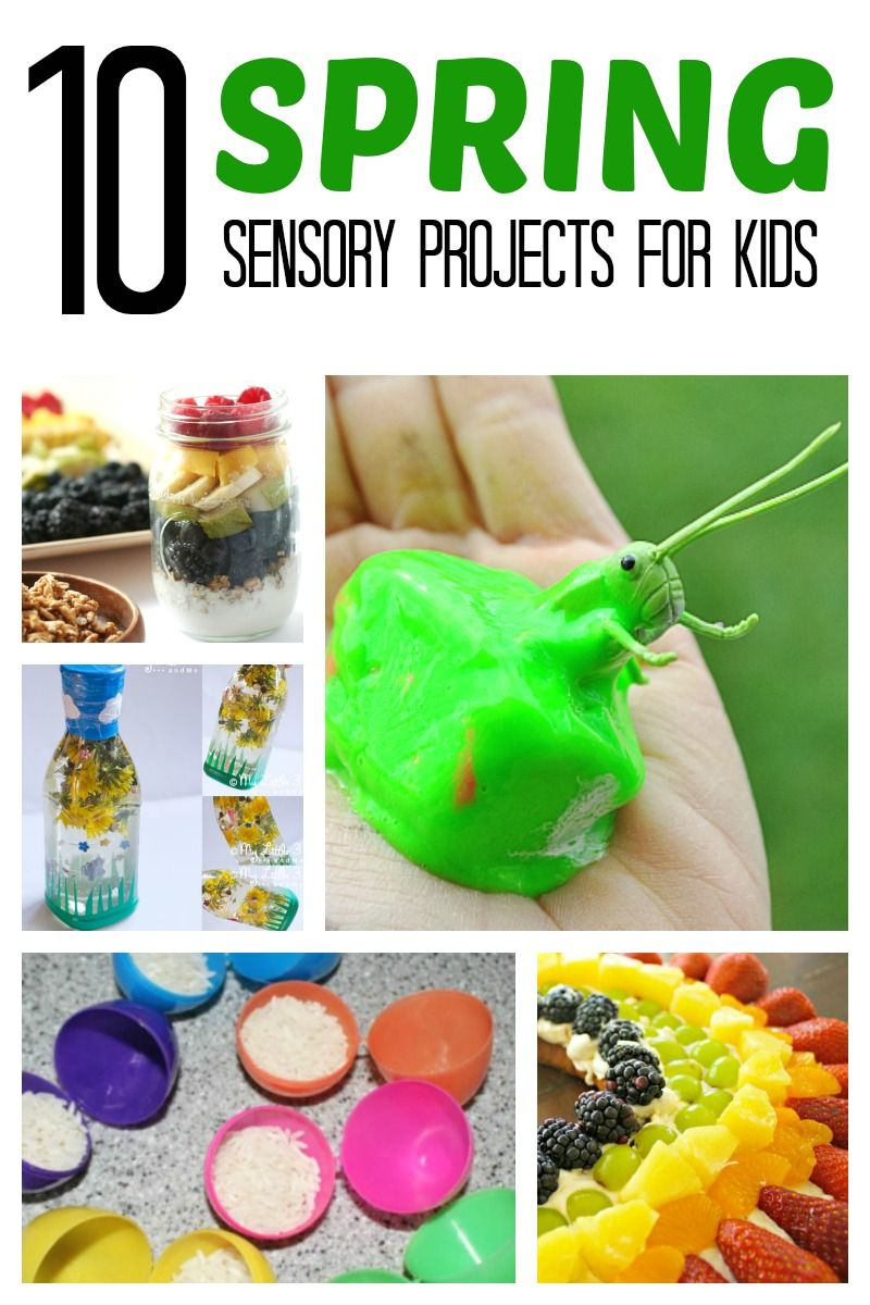 Spring Sensory Projects For Kids Kid Blogger Network Activities