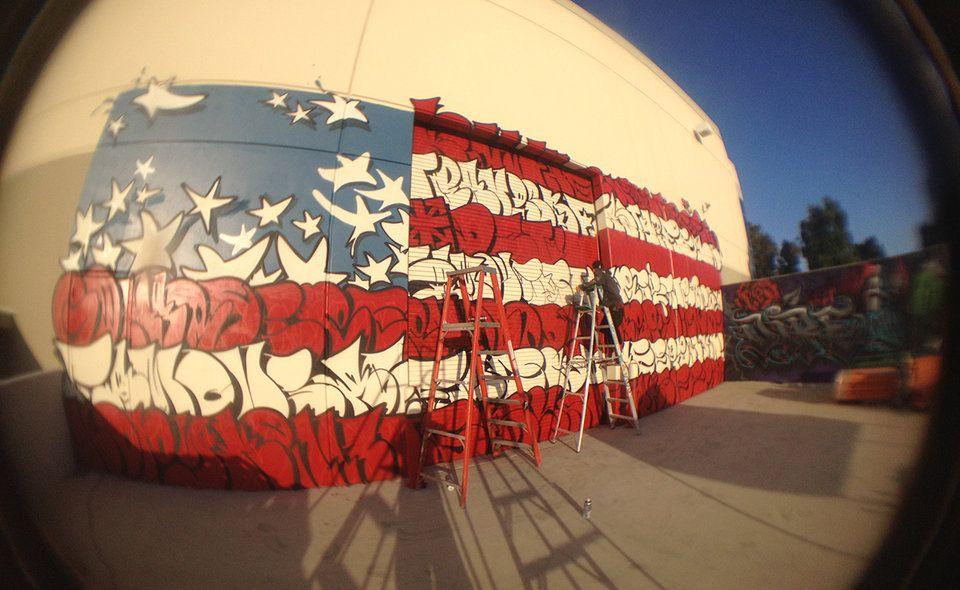 Street Art Portfolio: SLICK   Street Art Throwdown Photos