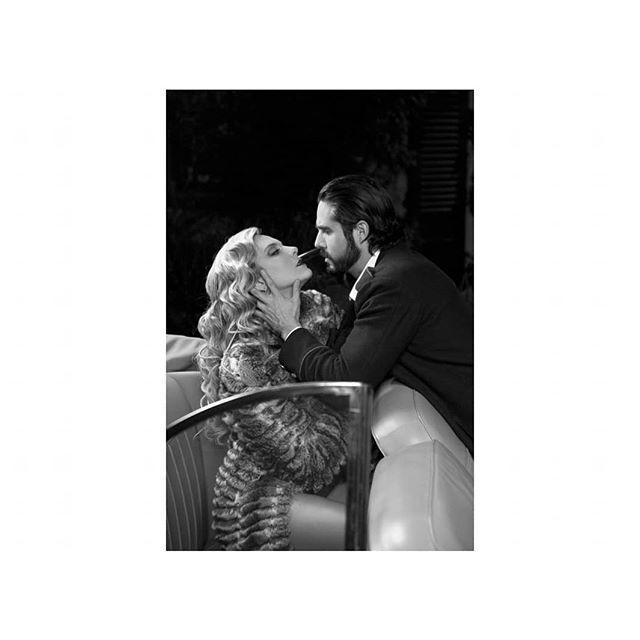 #Actores : @joseron3 y @gemmavelascom #GDL #tapatíos a quienes les agradezco por viajar conmigo a #1940 y contar una historia muy de cine mexicano de esa época), #Foto @emmanueltorresfoto #Pelo @rosariocb025 #makeupartist @gcarlosvelez Autos: #Bentley #classic
