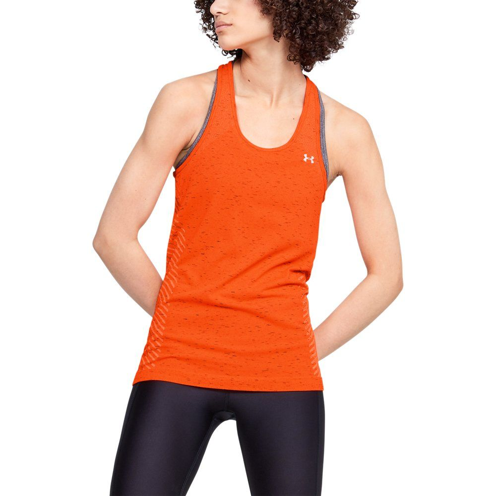 Photo of Under Armour Womens Seamless Melange – Red XS