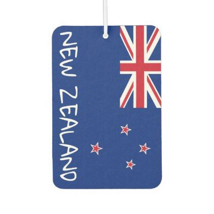 New zealand flag air freshener cyo customize design idea do it yourself diy also rh pinterest