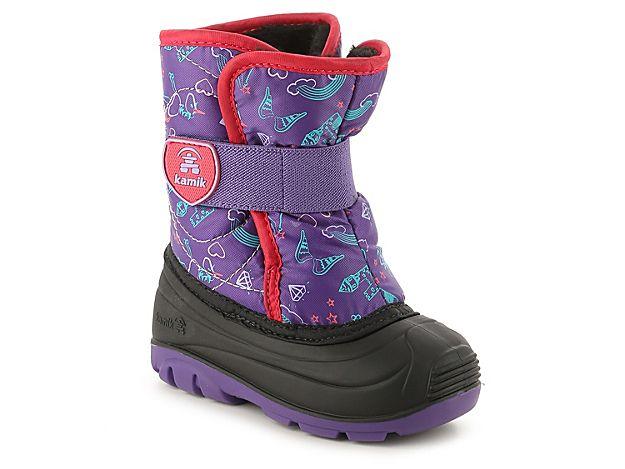 Girls Snowbug 4 Toddler Snow Boot -Purple