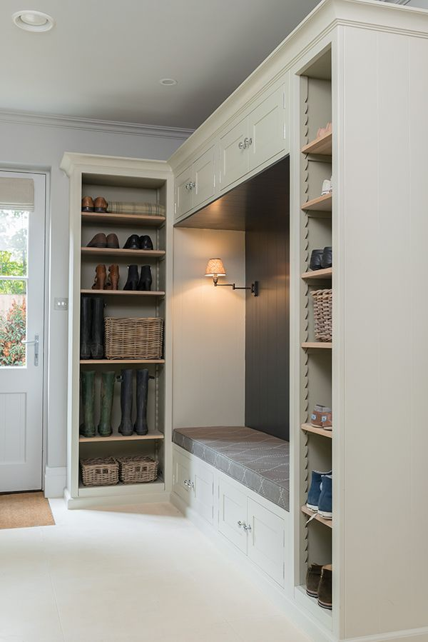 Pembroke Shelving Corner Bench Seating Mud Room Storage
