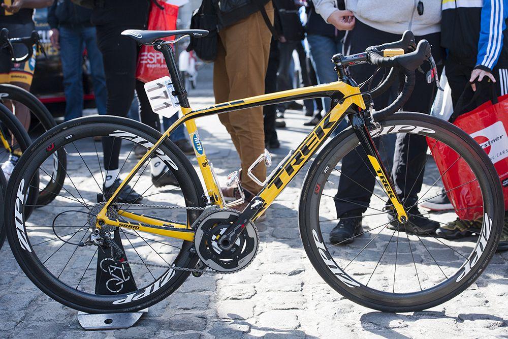 Pro Bike Gallery Ferekalsi Debesay S Mtn Qhubeka Trek Madone 7