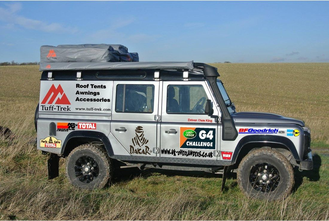 TuffTrek Home Expedition vehicle, 4x4 accessories