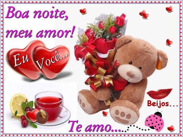 Cartoes Postais De Boa Noite Meu Amor Com Imagens Boa