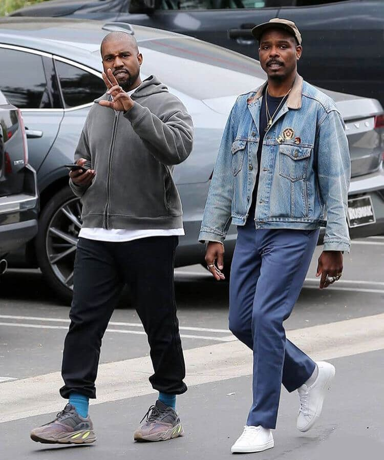 Balenciaga Off White Nike Bape Air Jordan And Other Footwear On Yeezy Direct Kanye West Outfits Kanye West Style Yeezy Fashion