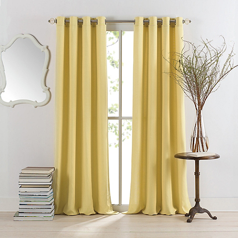 Sienna Grommet Window Curtain Panel - Bed, Bath and Beyond  - $27.99