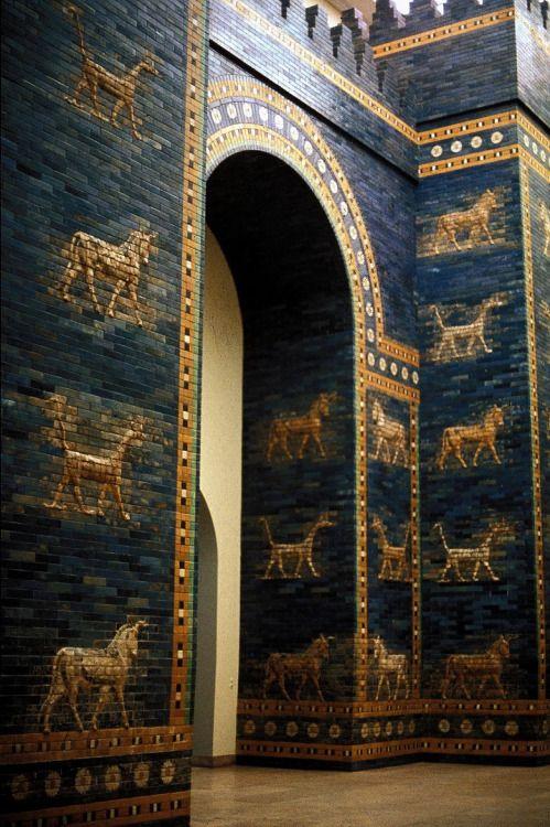 Ancient Mesopotamia Ancient Babylon Gate Of Babylon Mesopotamia