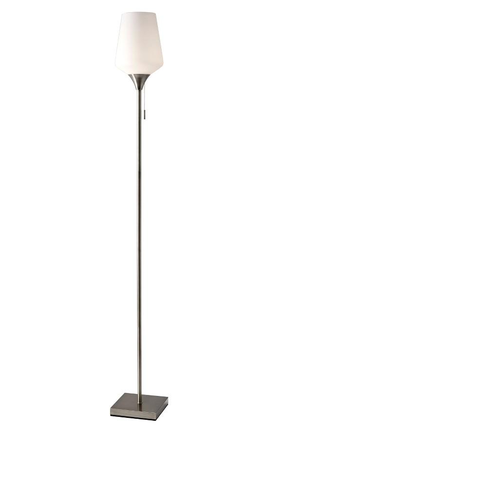 Roxy Floor Lamp - Steel (Silver) - Adesso