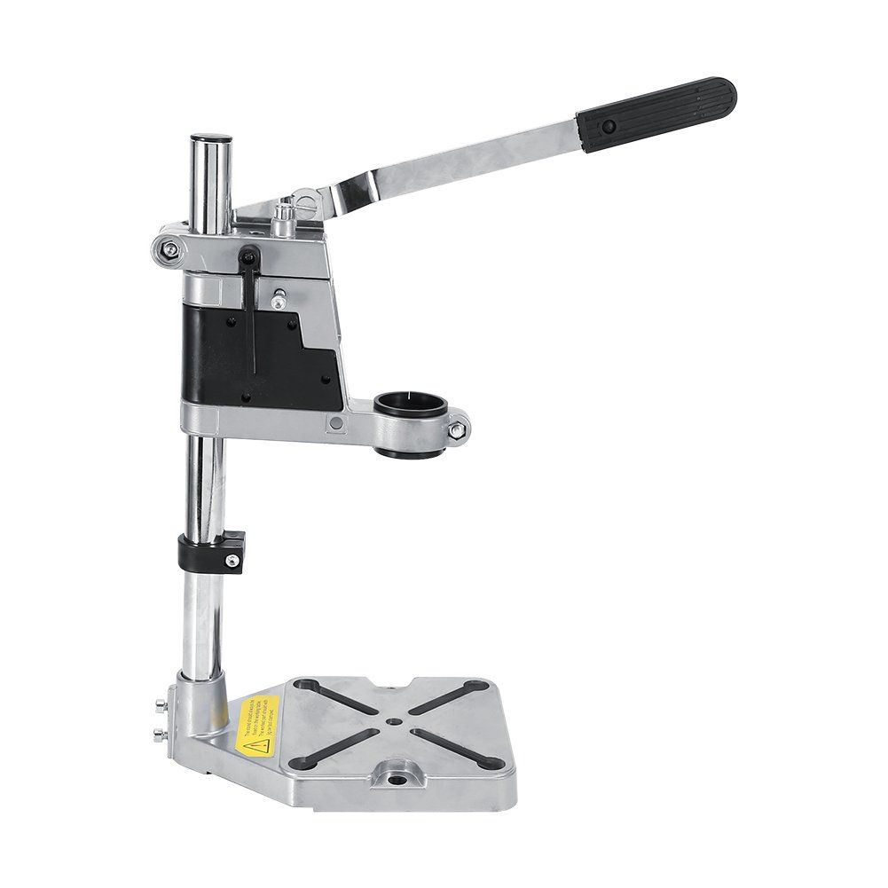 Drill Stand For Hand Drilluniversal Bench Clamp Drill Press Floor Stand Workbench Repair Tool For Drilling Collet Works In 2020 Drill Holder Electric Drill Bench Clamp