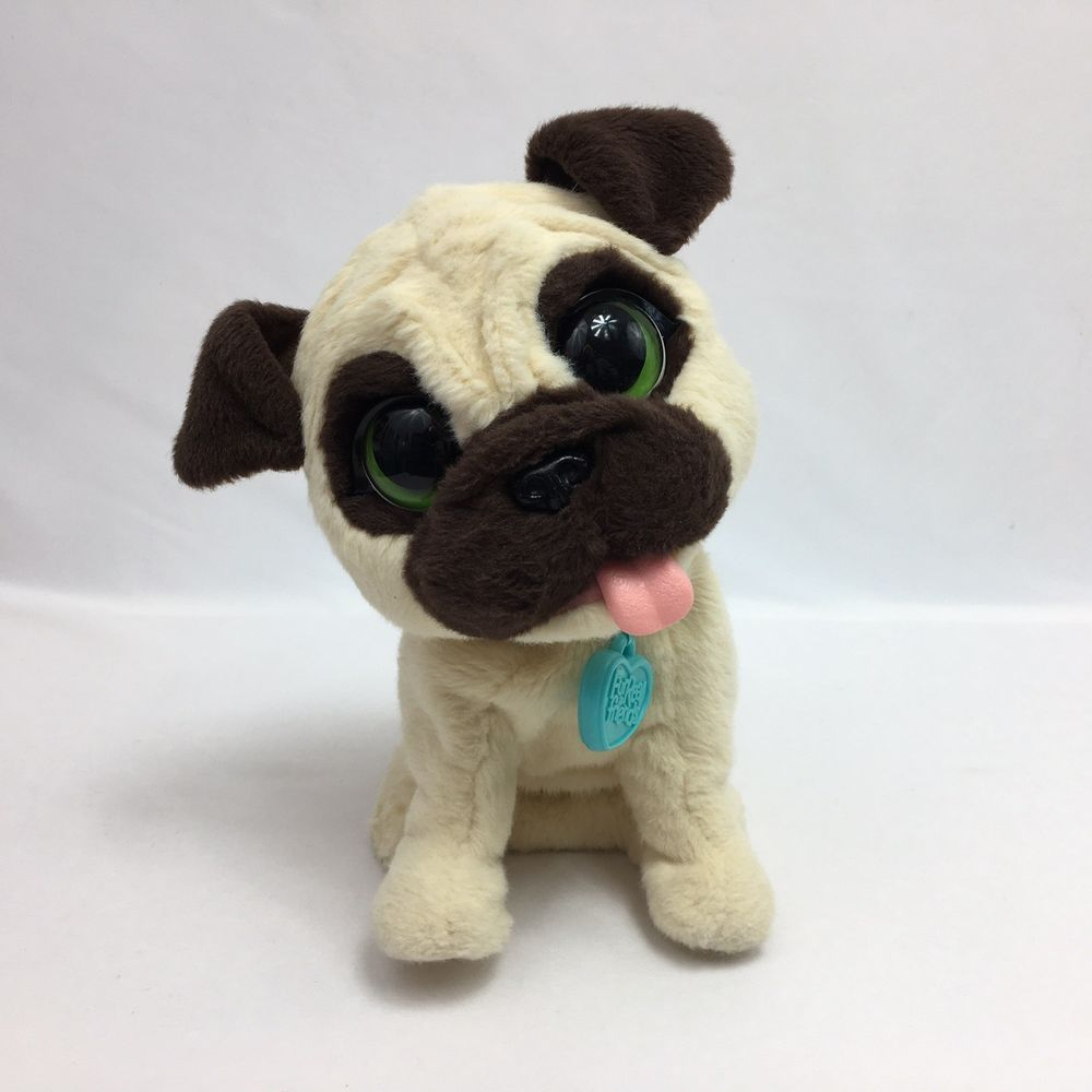 Details About Furreal Friends Jj My Jumpin Pug Pet Plush