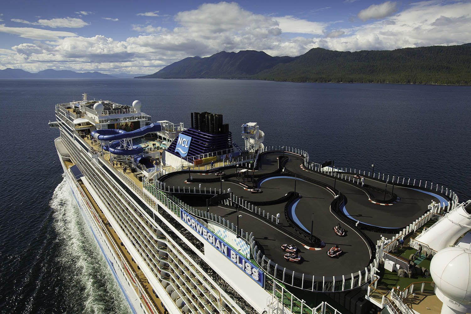 Cruise Ship With A Go Kart Track Begins Cruises Out Of Miami Norwegian Cruise Line Norwegian Cruise Cruise Ship Reviews