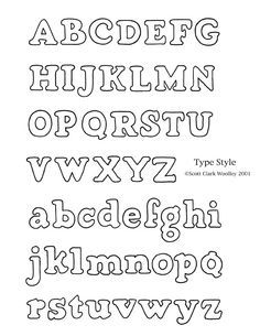 Different Styles Of Printing Letters  Lettering Styles  Bubble