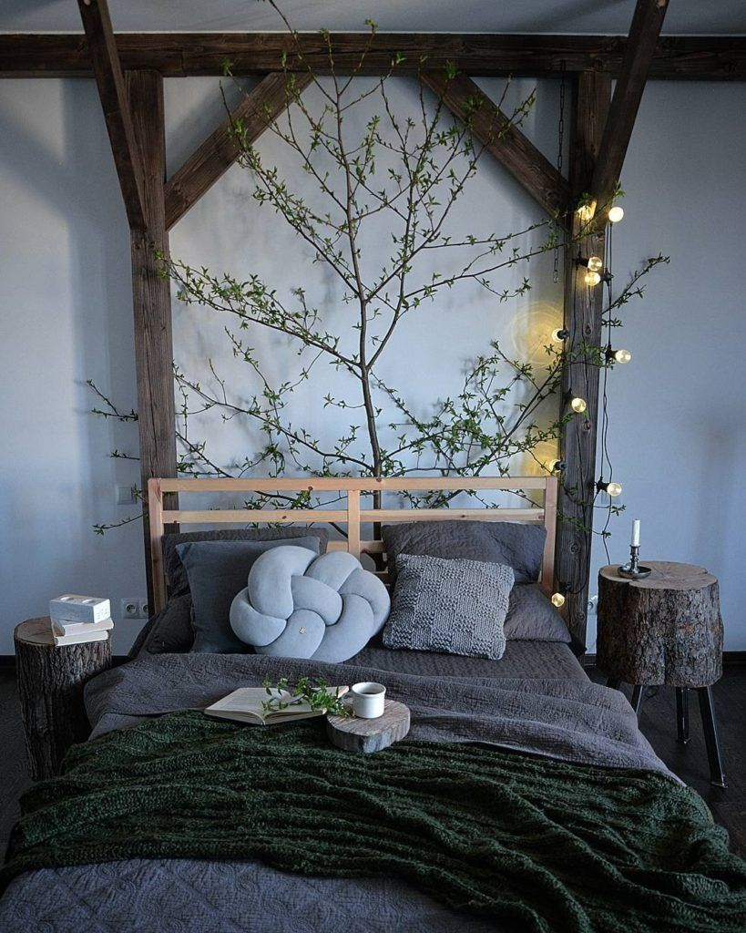20++ Nature themed bedroom ideas   LivingRoomReference
