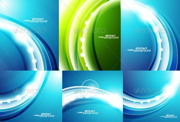 Wavy Backgrounds Vector Graphics Design Technology Background Color Wave