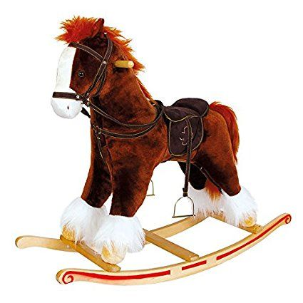 Small Foot Company 4104 Cavallo a dondolo «Fulmine»