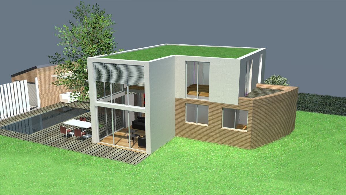 Plan Maison Architecte Maison Contemporaine A Etage A Toit