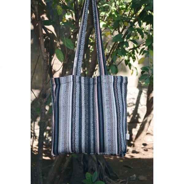 Grey Tote Bag #recycledbag#reusablebag#cottonbag#plasticfree#plasticfreejuly#saynotoplastic#noplastic#clothbag#ecofriendly