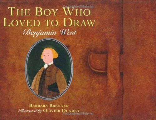 The Boy Who Loved to Draw: Benjamin West by Barbara Brenner et al., http://www.amazon.com/dp/0395850800/ref=cm_sw_r_pi_dp_29Zjtb1WADJCT