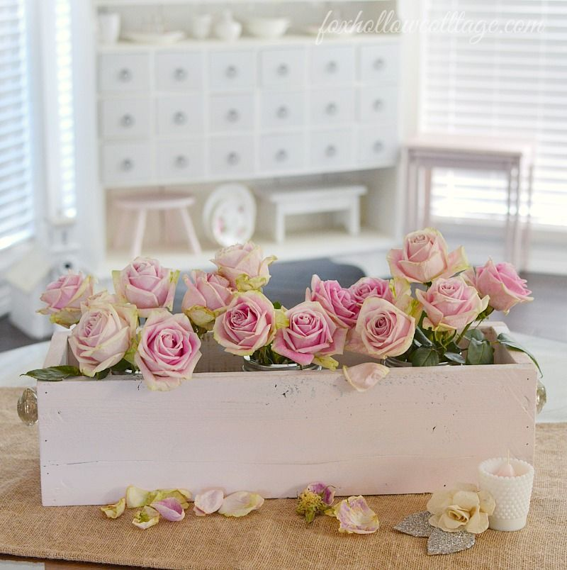 How To Make A Decorative Wooden Box Delectable Home Decor Howto Make A Trough Box Centerpiece With Design Decoration