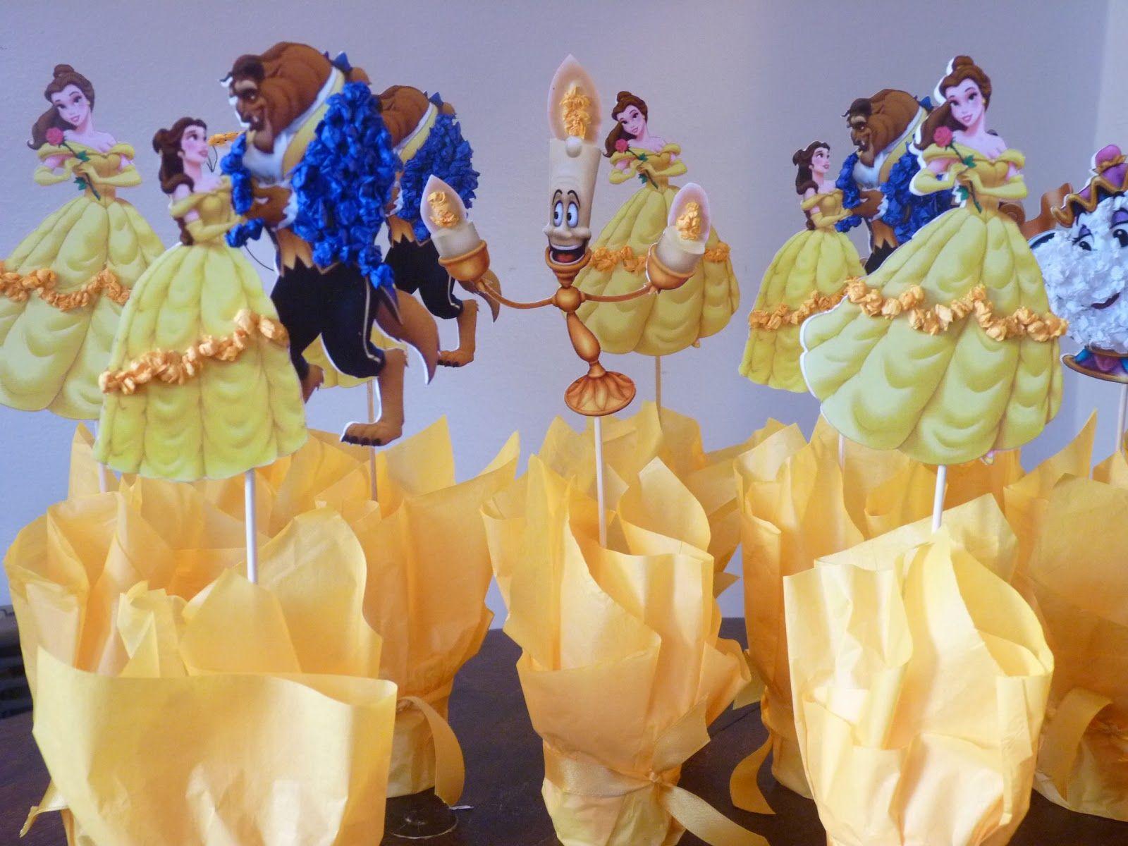 bella y la bestia mesa de dulces - Buscar con Google | Fiesta ...