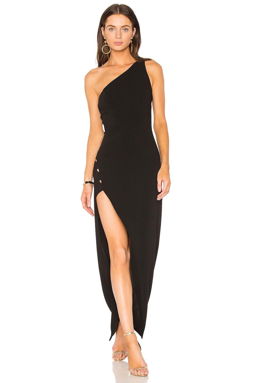 NBD Dream Gown In Black. - Editorialist