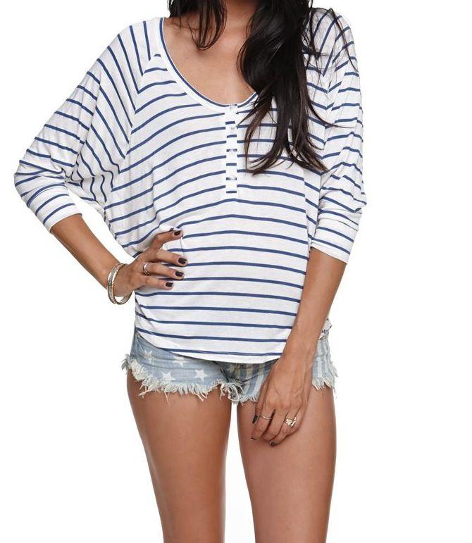 Billabong Day Dreamz Henley T-Shirt