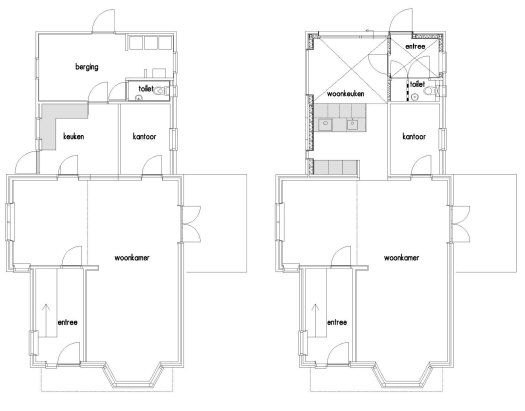 Dick van Aken Architectuur verbouw woonhuis Silvolde