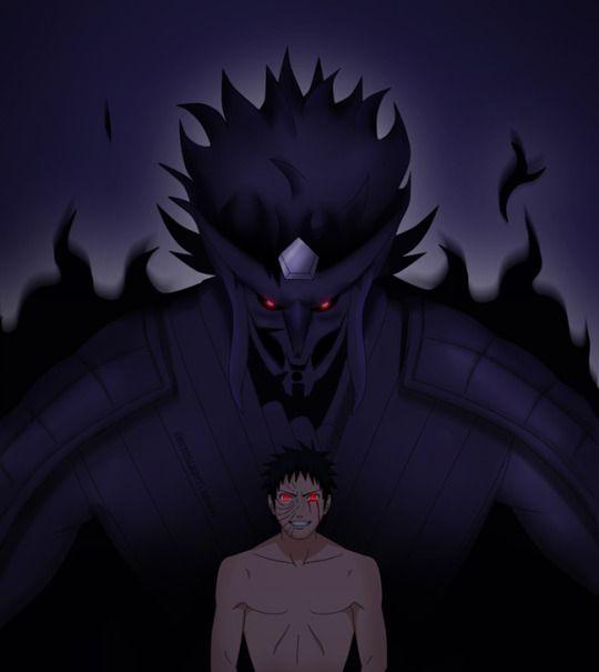 Obitoslight Susanoo Naruto Manga Ilustracao De Personagens
