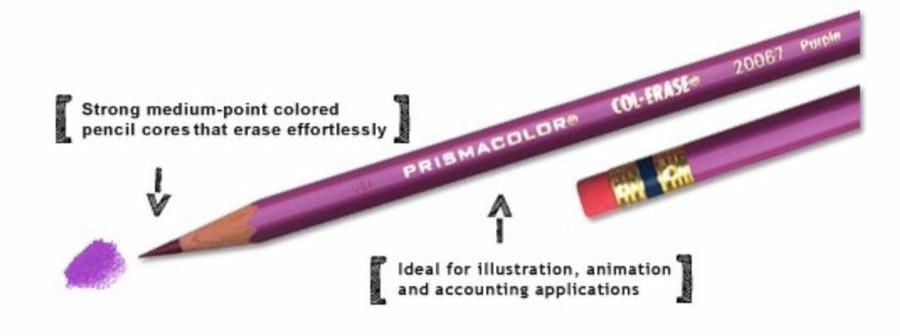 Prismacolor Col Erase Erasable Colored Pencil Carmine Red 20045 12pc Colored Pencil Set Colored Pencils Erasable Colored Pencils