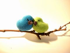 Love birds decoration