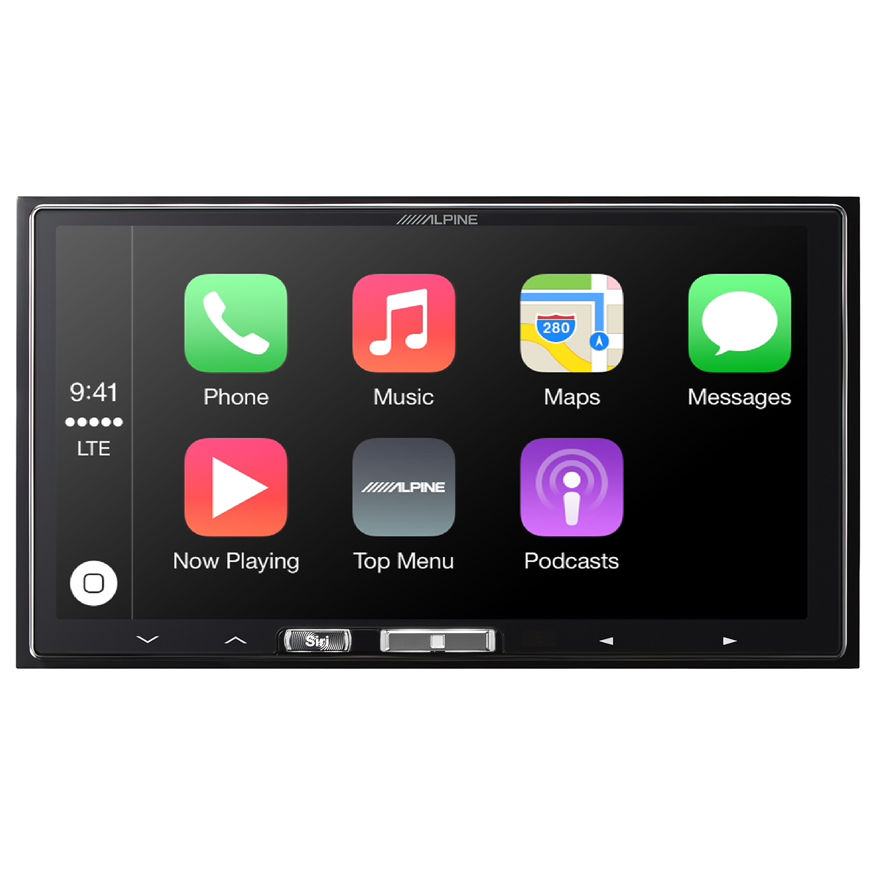 Alpine Introduces iLX007 InDash Receiver With Apple