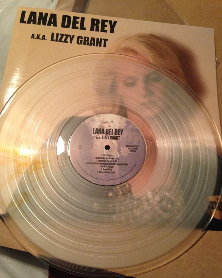 Lana Del Rey Ldr Lizzy Grant Vinyl Lana Del Rey Lana Discos De Vinilo