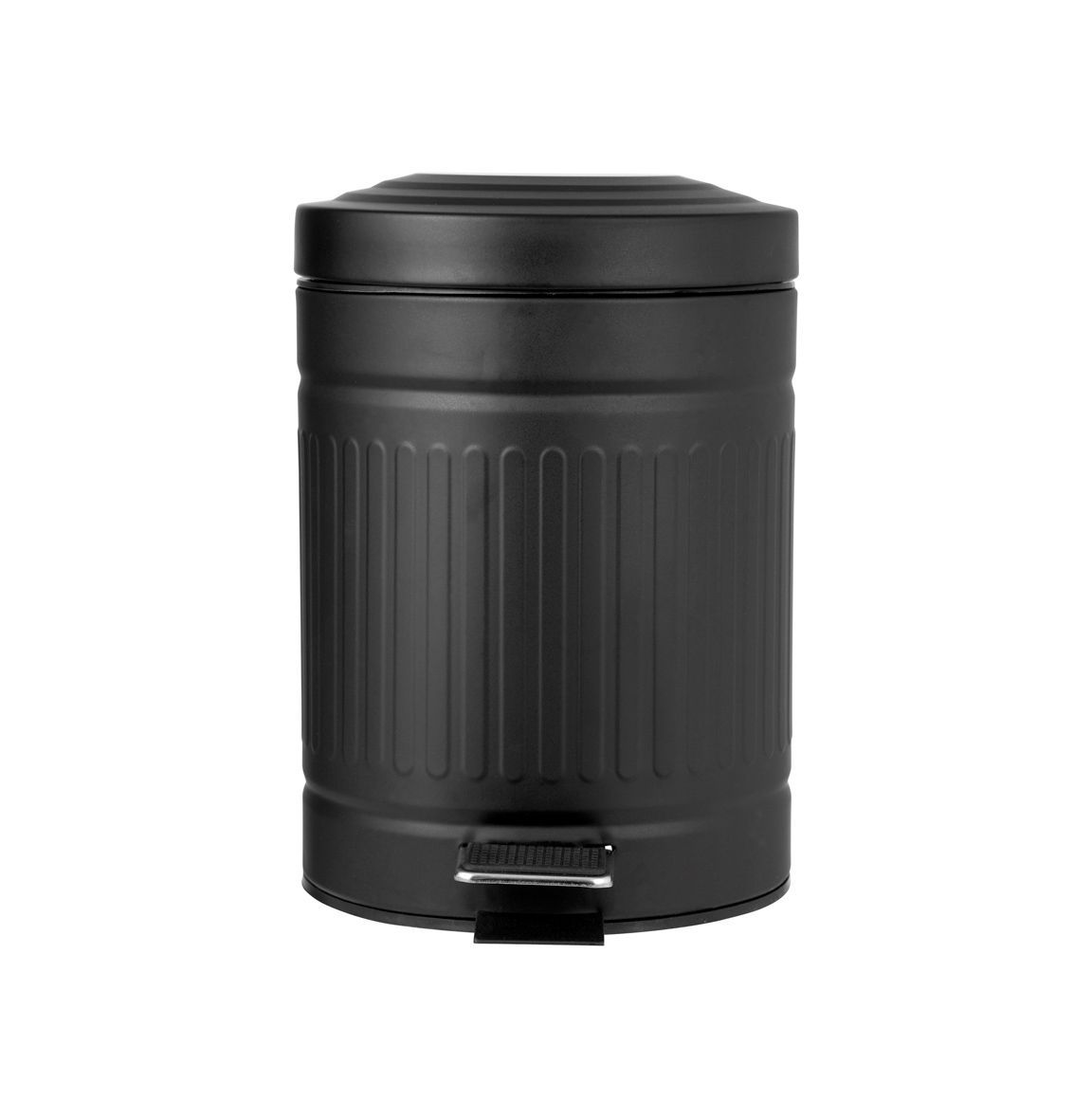 Prullenbak Carrie zwart - Badkameraccessoires - Badkamer :: Leeff ...