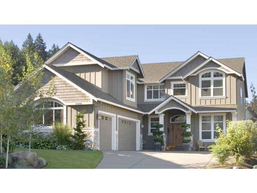 Eplans New American House Plan - Six Bedroom New American - 3254 ...