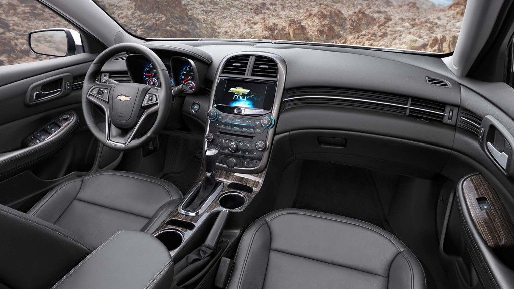 2014 Malibu Mid Size Sedan Interior Pictures Chevrolet