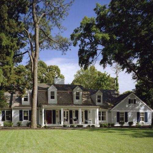 Houzz Mansard Roof Design Ideas Remodel Pictures Mansard Roof Roof Design House Exterior