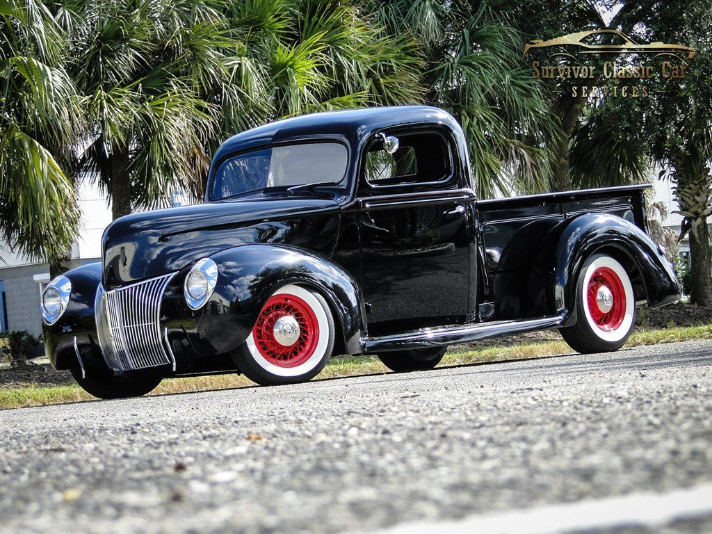 Ebay Advertisement 1940 Ford Other Pickups 2 Door Black Ford