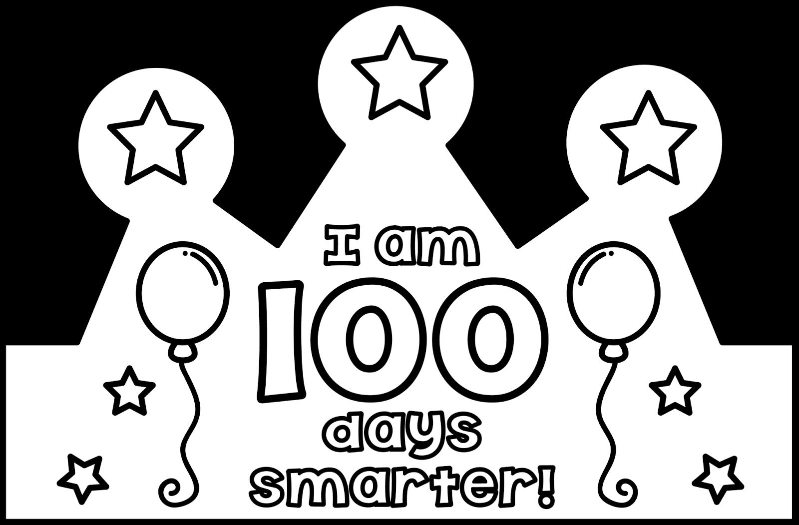 100th Day Crown Teacher Laura