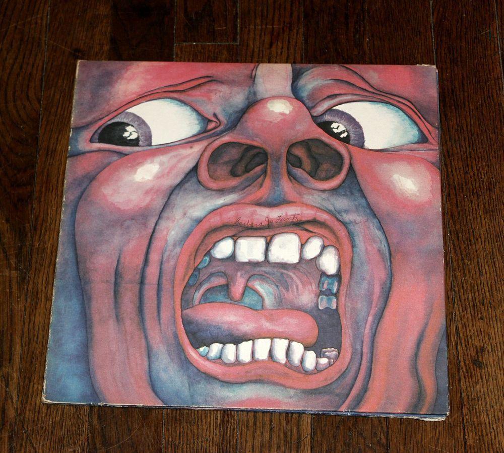 King Crimson In The Court Of The Crimson King Gatefold Lp Vinyl G Lake R Fripp King Crimson Vinyl Lp Vinyl