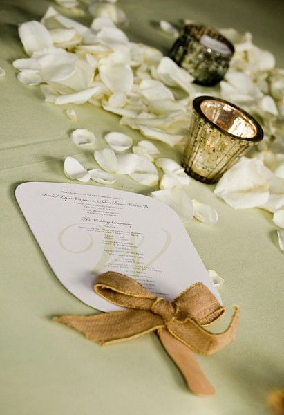 white petal details for wedding with silver mercury glass