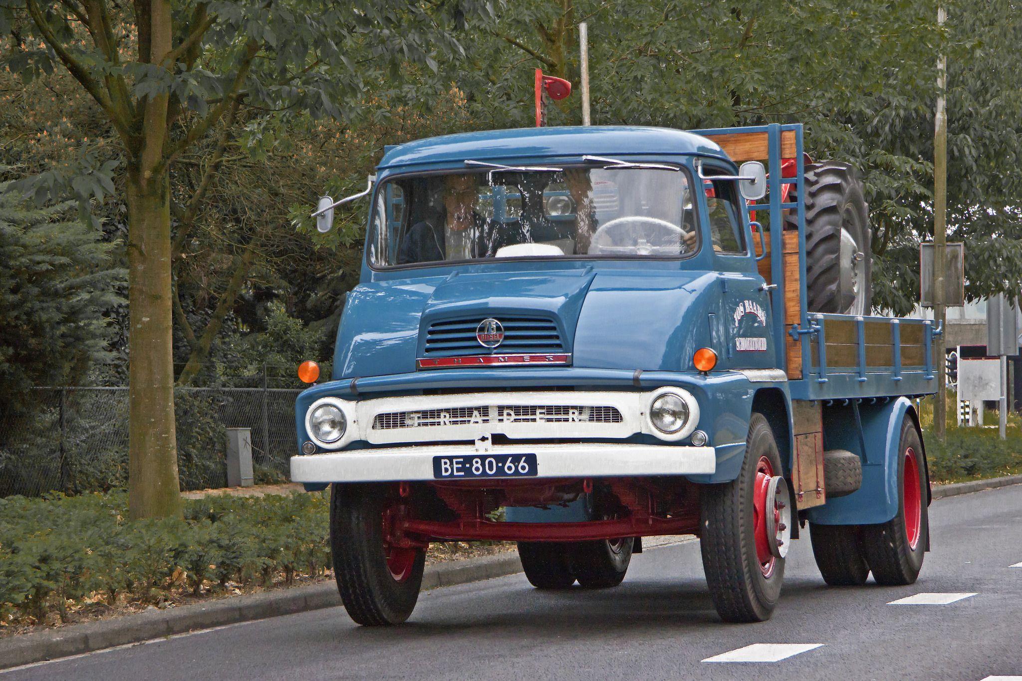 Thames Trader MK 2 75 Diesel 1963 (5506) | Diesel engine, Diesel and ...