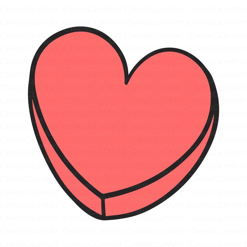 Blank Heart Candy Svg Heart Candy Clipart Valentine S Etsy Heart Candy Candy Clipart Valentines Conversation Hearts