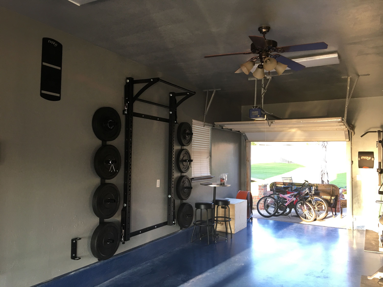 Extreme Gym Makeover Garage Edition