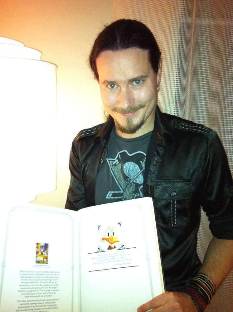 Tuomas Holopainen of Nightwish, one of the greatest songwriters of our time.
