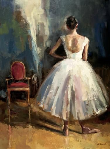 Dancer with Chair - Lisa Noonis