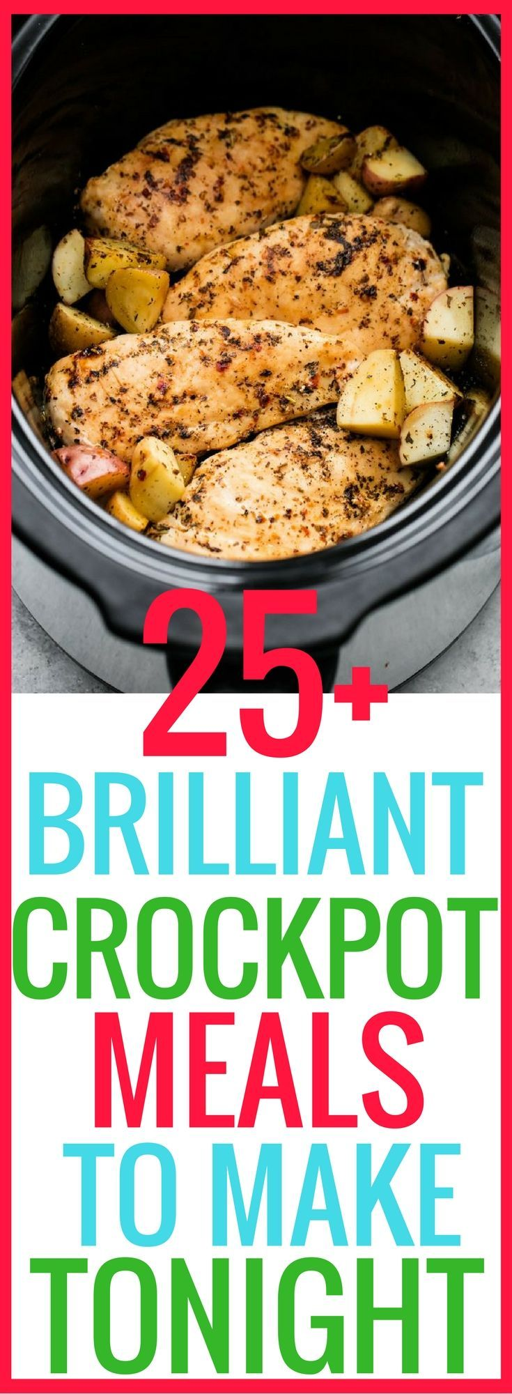 25+ Easy Crockpot Meals That Will Make You A Super Chef images