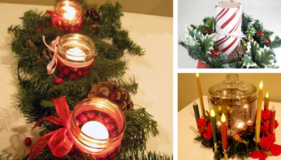 Christmas Table Decorations-Christmas Centerpiece Ideas Christmas